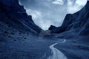 Premade Dark Mountain Path by MBHenriksen