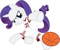 Rarity - Ballin' by CaliAzian