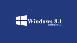 Windows 8.1 update 3 by TheRedCrown