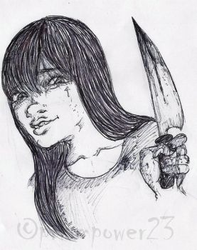 That Bloody Knife by prismpower23