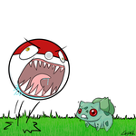 Bulbasaur: DOES NOT WANT by LEE-SAW