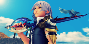 Young and brave Keyblade Master by Kingdom-Hearts-Realm