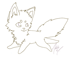 Free Chibi Lineart by Self-Eff4cing