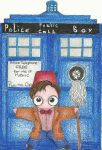 Birthday Card to Matt Smith by SanariSebuna