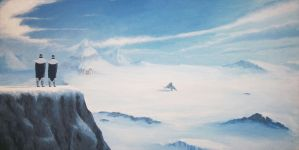Stroll at the South Pole by Zenity