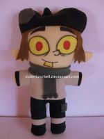 Jimmy two Shoes Peep plushie by VioletLunchell