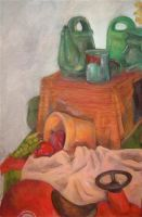 Study in Red and Green by Kunsthaus