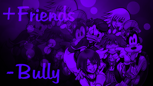 Kingdom Hearts: +Friends, -Bully (Spirit Day 2012) by RedSoul77