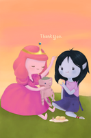 Peebles and Marcy: Thank You by Aquaciana