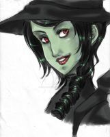 Elphaba by Berylunee