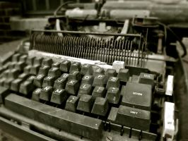 Typewriter by SettembroMeg