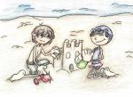 Request : Sand Castles by JazzXrawr