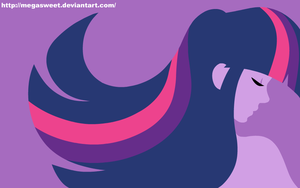 Human Wallpaper - Twilight Sparkle by MegaSweet