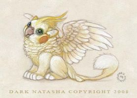 Cockatiel Griffon by darknatasha