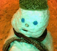 The Indifferent Snowman by chris-ellis
