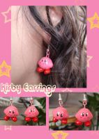 Kirby earrings by Eliwi