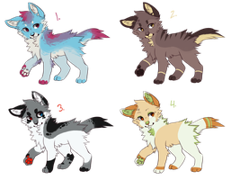 Canine Adoptables 001 by Headsetables