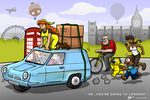 So, You're Going to London? (SYAC Contest) by azfar-90