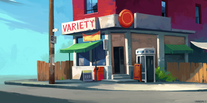 Variety Store Study by mhannecke