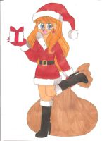Contest: Miss Santa Kelly by animequeen20012003