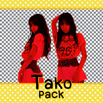 Tako (SNH48) PNG (render) pack 5 by snh48