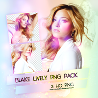 Blake Lively Png Pack by SuBiebs