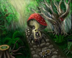 Mechanical mushroom by Askent