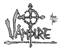 Logo design - Vampire by Maiss-Thro