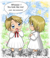APH - America + Canada kiddies by Endless-Rainfall