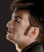 The 10th Doctor - David Tennant by Rabaukus