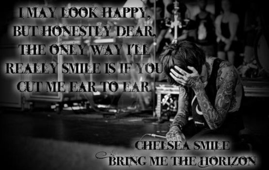 ~BMTH~ The Only Way I'll Really Smile... by Animelovinggirl14