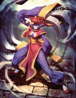 Hsien-ko Darkstalkers tribute by GENZOMAN
