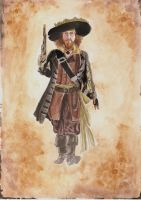 Hector Barbossa by Eminentia