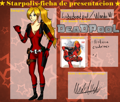 SP-Lady Deadpool by ReyRaibwoso