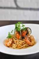 Seafood Pasta by Ronaldwei