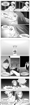 Nightmares: Guzma and Plumeria comic pg.7-9 by PhantomMuse