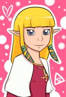 Skyward Sword Zelda by zeldamuffin