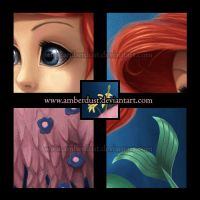 The Little Mermaid: Details by AmberDust
