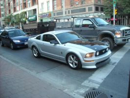 The Mustang GT On Jarvis by Neville6000