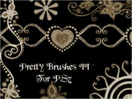 Pretty Brushes II by d00bie