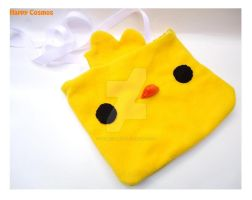 Yellow Chick Messenger Bag by CosmiCosmos
