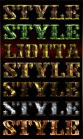 Metal and stone styles by Lyotta
