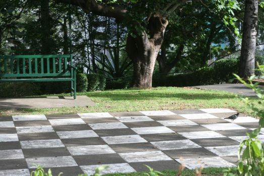 Giant Chessboard Revisited.2 by Mind-Matter