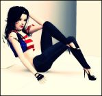 American Top Model by ivedada
