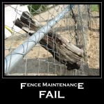 Fence Maintenance FAIL by 1389AD