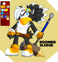Boomer Sledge -reference by Wild-Baguette