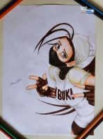 Ibuki - Steeat Fighter - Drawing by TheSaikoOF