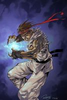 Ryu's HadouKen by Flatliner74