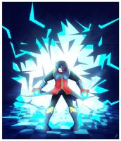 boyfriend with electric superpowers is pissed off by marvyanaka