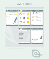 -PREVIEW- Ayofe Theme for S60 by eggy